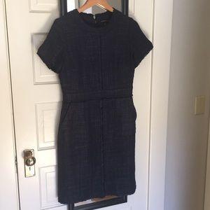 Banana Republic Tweed Sheath Dress with Pockets